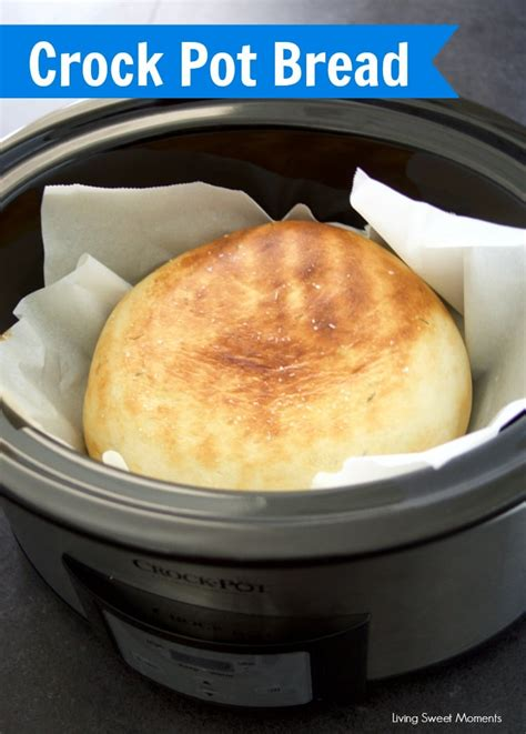 herbed crock pot bread recipe living sweet moments
