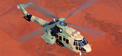 Rugged Environment by Helicopter H215m Airbus Helicopters