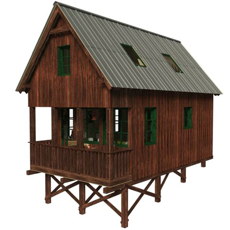 small house plans with porch small cabin plans with loft and porch