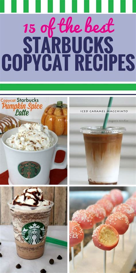 Enjoy alongside a cup of rich and lively breakfast blend coffee for a delicious combination of sweet morning flavors. 15 Copycat Starbucks Recipes | Starbucks recipes, Coffee recipes, Starbucks pumpkin spice latte