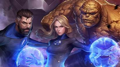 Fantastic Four Marvel Future Fight Wallpapers 4k