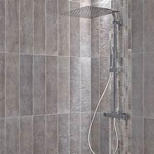 Leroy Merlin 15 Aout : carrelage sol et mur gris vestige x cm leroy ~ Dailycaller-alerts.com Idées de Décoration