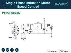 Single Phase Induction Motor Speed Control