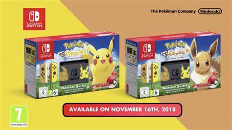 nintendo switch limitierte pokemon edition computer bild