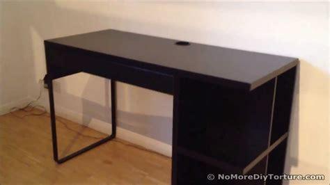 furniture ikea micke desk  minimum space ideas