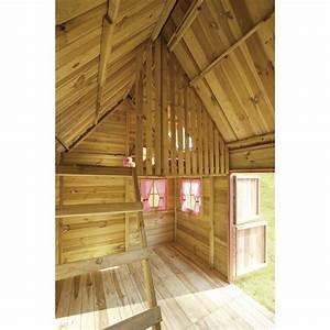 Maisonnette En Bois Castorama : maisonnette en bois cerland rosalie maisonnette en bois ~ Dailycaller-alerts.com Idées de Décoration