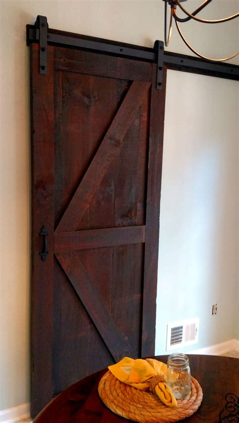 buy  hand crafted  sliding barn door  rough sawn