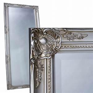 Wandspiegel Silber Antik : wandspiegel spiegel silber 180 x 80 cm antik barock real ~ Watch28wear.com Haus und Dekorationen
