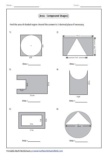 pin by patti on composite figures area worksheets