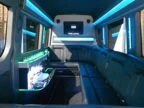 Mercedes Sprinter Van Limo Interior