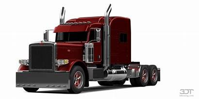 Peterbilt Sleeper Truck Cab 3dtuning Paint Custom