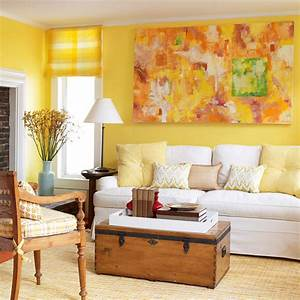 yellow living room design ideas With colour it yellow living room