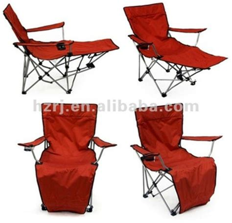 red folding cing chair with footrest buy outdoor