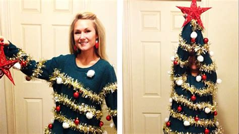christmas tree sweater costume 7 diy christmas sweaters from today 2369