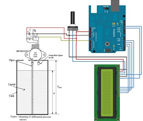 Water Level Measurement Using Arduino Circuitsyou