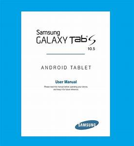 Samsung Galaxy Tab S 10 5  Model Sm