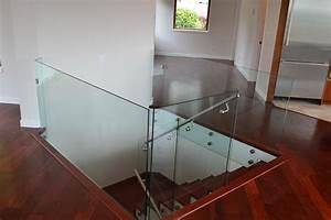 Interior Frameless Glass Railings Standoffs Kristy
