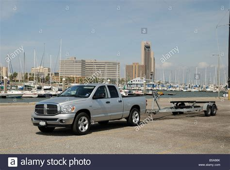 Tow Boat Us Corpus Christi by Truck And Trailer Stock Photos Truck And