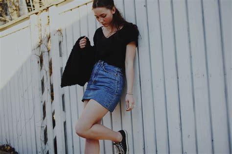 Is The Denim Skirt Really Passe? u2013 The Fashion Tag Blog
