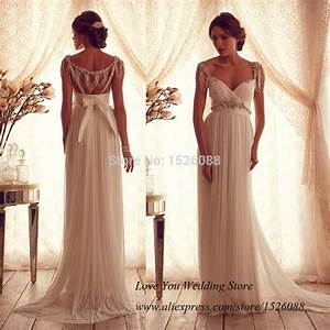 summer vintage beach wedding dress backless chiffon 2015 With beach maternity wedding dress