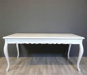 Table Blanche But : table baroque blanche meuble baroque ~ Teatrodelosmanantiales.com Idées de Décoration