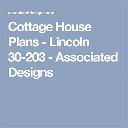 Cottage Plan Lincoln Plans Associateddesigns Schuyler