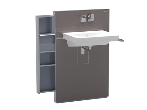 geberit monolith montageanleitung monolith sanitary module for washbasins by geberit italia