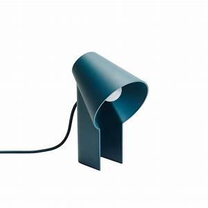 Lampe De Bureau Enfant : lampe de bureau bleu canard woud pour chambre enfant les enfants du design ~ Teatrodelosmanantiales.com Idées de Décoration