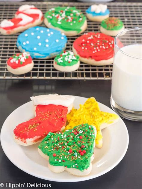 Check out my roundup of 60 gluten free and dairy free christmas cookies, with plenty of vegan and nut free options! Gluten Free Christmas Sugar Cookies