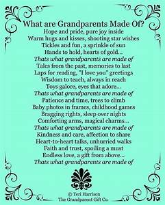 what grandparents are made of mother39s day baby shower With grandparents letters to grandchildren