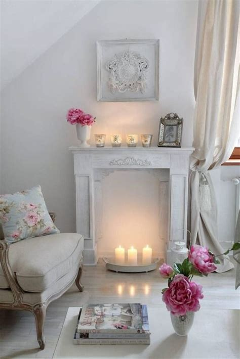 shabby chic mantel decor 26 charming shabby chic living room d 233 cor ideas shelterness