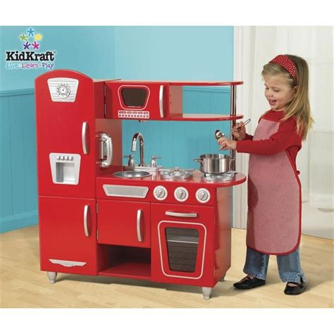 cuisine vintage kidkraft kidkraft cuisine enfant vintage en bois achat