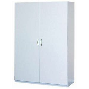White Storage Closet Wardrobe by White Clothing Wardrobe Cabinet Closet Armoire Storage