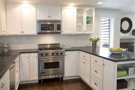 white kitchen dark counters white kitchen cabinets and dark countertops google 304 | 49ea22dc4bbf5c1108270e2c8bea9397