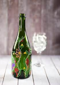 painted platters 40 amazing wine bottle ideas which are practically useful