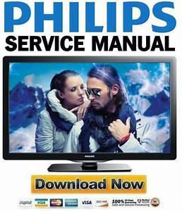 Philips 40pfl4707 Service Manual And Repair Guide