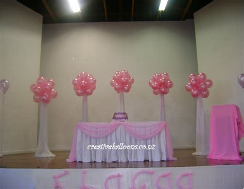 balloon decorations  dancefloors