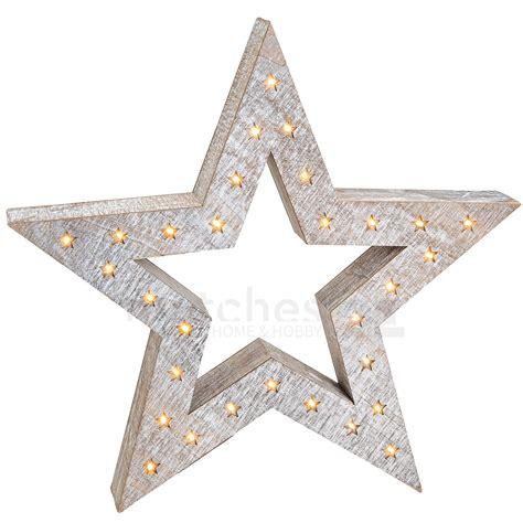 weihnachtsdeko mit holz weihnachtlicher leuchtstern weihnachtsdeko holz led beleuchtung 52x8 cm kaufen matches21