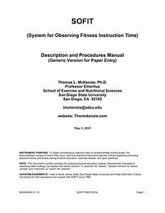 Pdf  Sofit  System For Observing Fitness Instruction Time