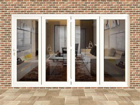 10ft white upvc folding doors flying doors