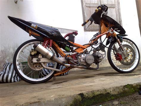 Modifikasi Motor Indonesia by Modifikasi Motor Racing Look Otomania