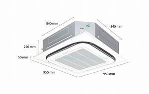 Daikin Ceiling Cassette Ac Inverter Fcq71kavea  3 0hp