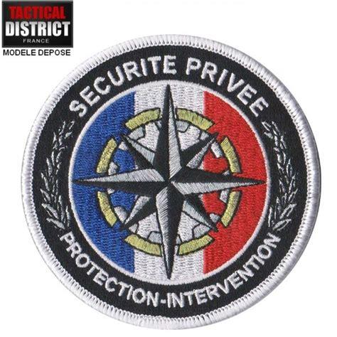 bureau s curit priv e ecusson sécurité privée protection et intervention