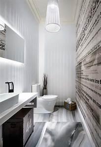 idees de decoration inspirantes pour rendre nos toilettes With decoration des toilettes design