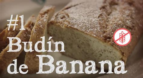 receta de budin de banana sin gluten modo gluten