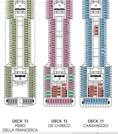 Msc Divina Deck Plan 13 by Preziosa Category 12 Quot Suite Quot Any Different From