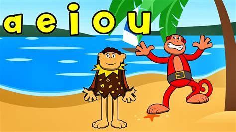 las vocales  el mono silabo  nicola cavernicola