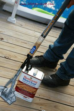 a paint pad is a great tool for applying thompson s water seal waterproofers whether it s a