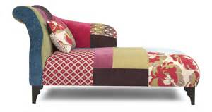 Chaise Patchwork Design by Shout Right Hand Facing Chaise Longue Shout Patchwork Dfs