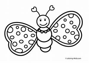 butterfly coloring pages black and white | Free Coloring ...